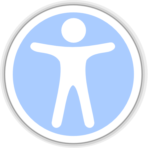 Accessibility, Directory, Icon Icon