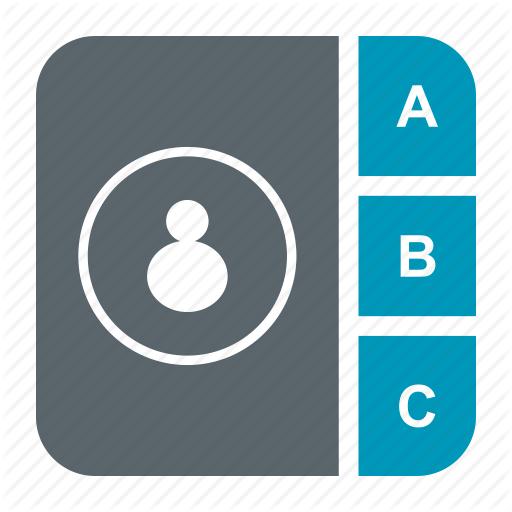 Address, Adressbook, Book, Bookmark, Contact, Directory Icon