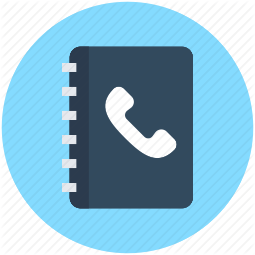 Address Book, Phone Directory, Phonebook, Telephone Book