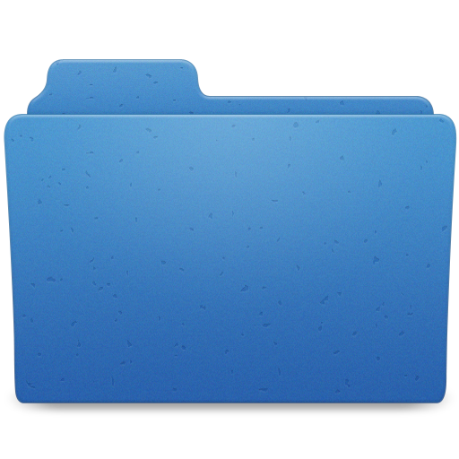 Blue Directory Icon Png