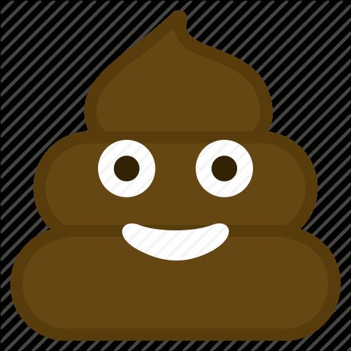 Dirt, Emoticon, Happy, Poop, Smile Icon