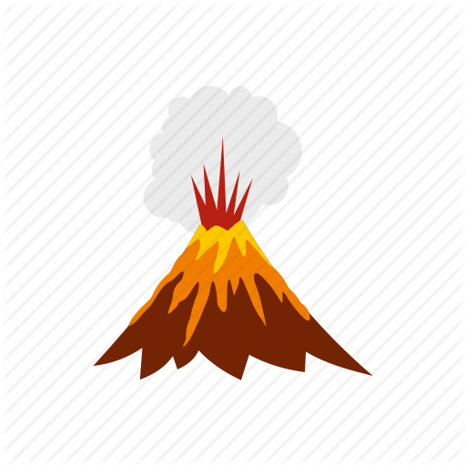 Transparent Volcano Icon Transparent Png Clipart Free Download