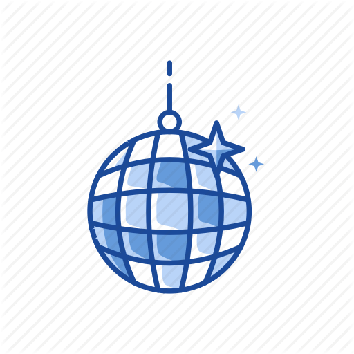 Ball, Disco, Disco Ball, Party Ball Icon