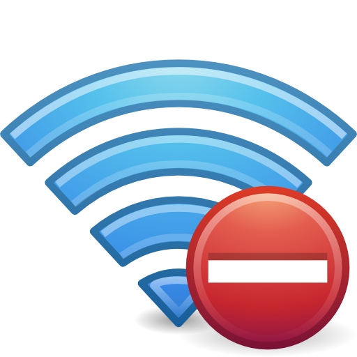 Notification Wireless Disconnected Icon