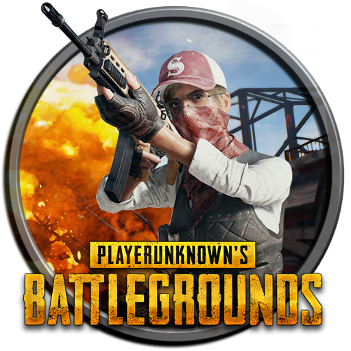 Playerunknown's Battlegrounds Round Icon Pubattlegrounds