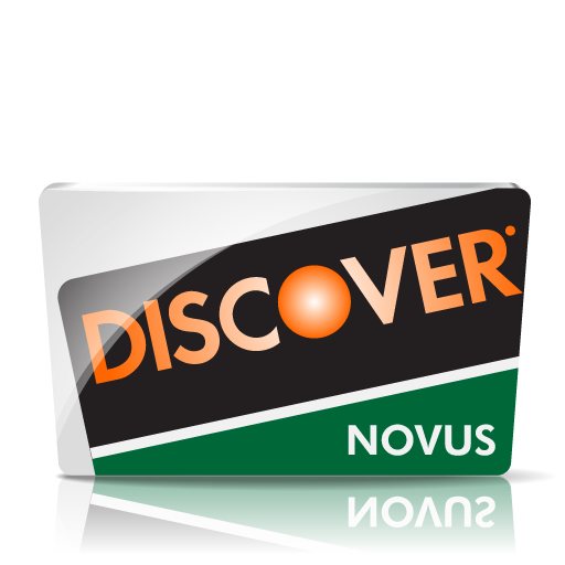 Discover Novus Icon Credit Card Iconset Iconshock