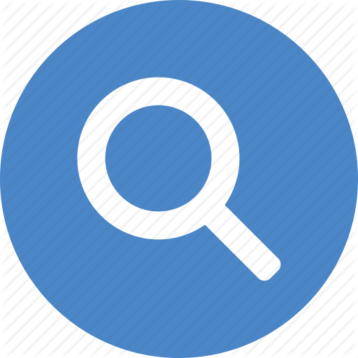 Blue, Browse, Circle, Discover, Explore, Search, View Icon