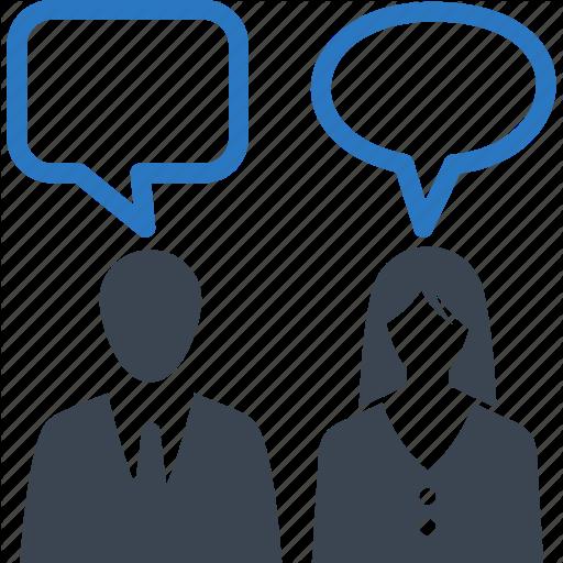Debate Clip Black And White Communication Icon Huge Freebie
