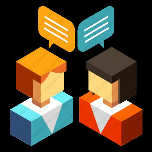Download Discussion,conversation,conference Icon Inventicons