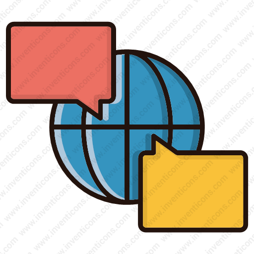 Download Global,discussion Icon Inventicons