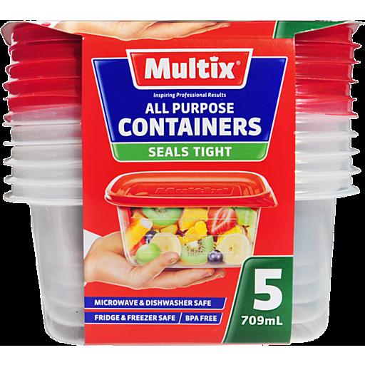 Multix Plastic Containers All Purpose
