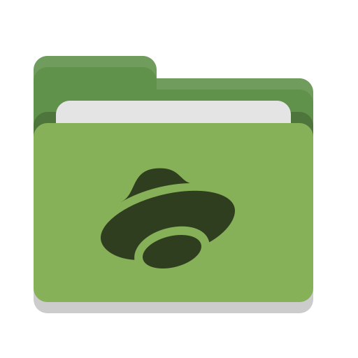 Folder, Green, Yandex, Disk Icon Free Of Papirus Places