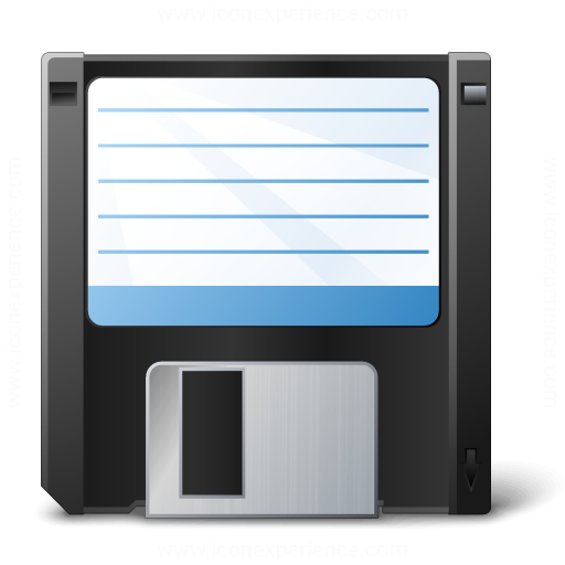 Iconexperience V Collection Floppy Disk Icon