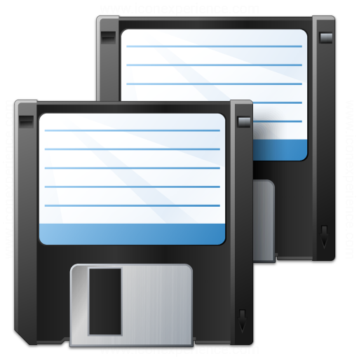 Iconexperience V Collection Floppy Disks Icon