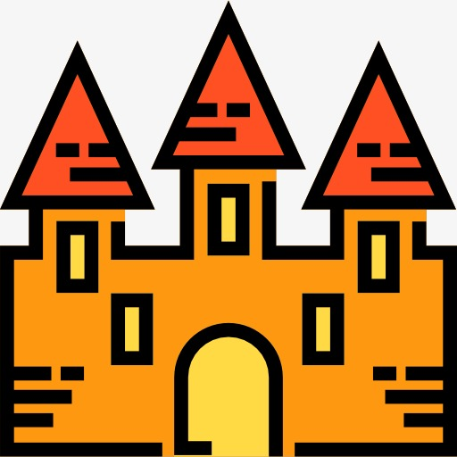 Castle, Bunker, Cartoon Png And For Free Download