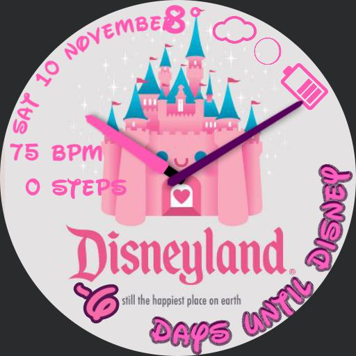 Countdown To Disney Castle For G Watch R