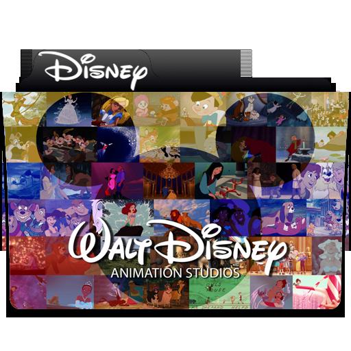 Disney Animation Folder Icon