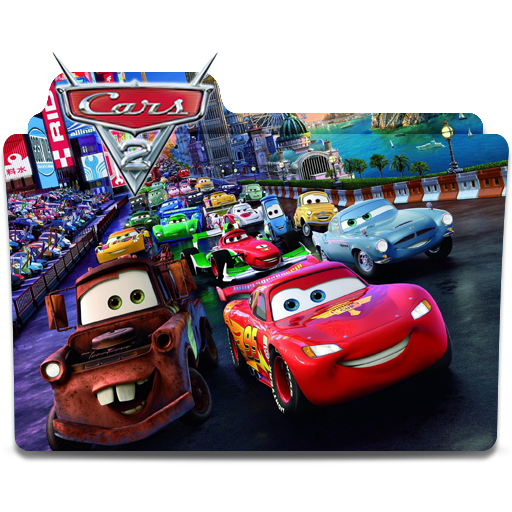 Disney Pixar Folder Icon