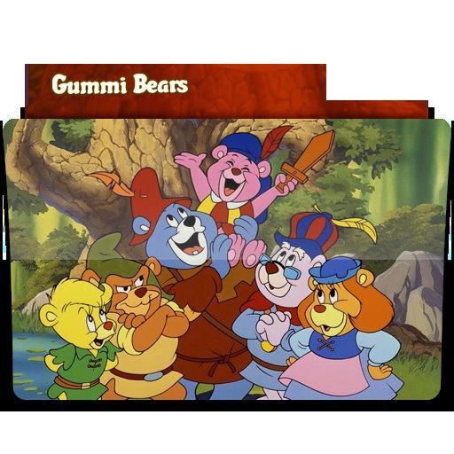 Gummi Bears Icon Tv Show Folder Iconset Jenny Jenkins