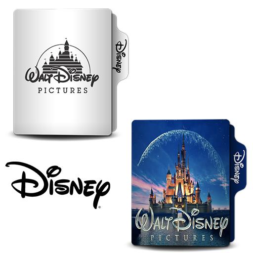Walt Disney Folder Icon