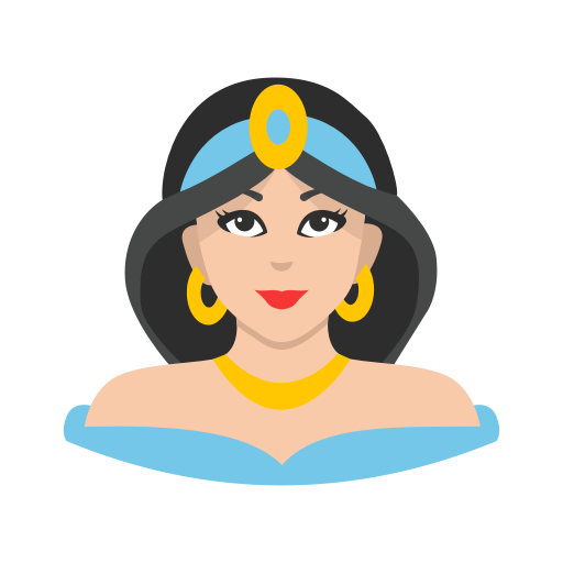 Aladin, Disney Princess, Jasmine, Princess Icon