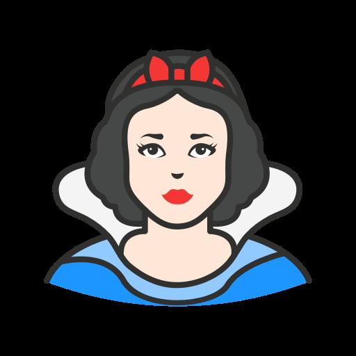 Disney Princess, Lady, Princess, Snow White Icon