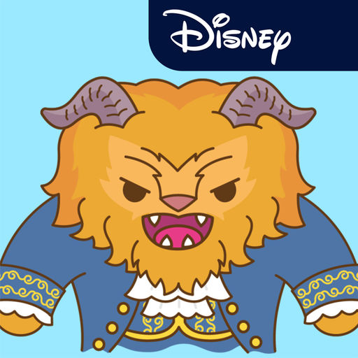 Disney Stickers Beauty And The Beast Pack
