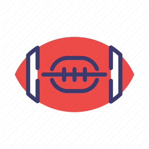 American, American Football, Quarterback, Rugby, Sport, Touchdown Icon