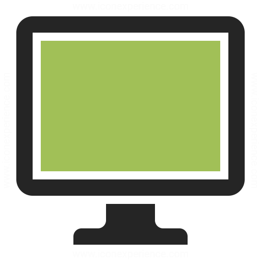 Monitor Icon Iconexperience