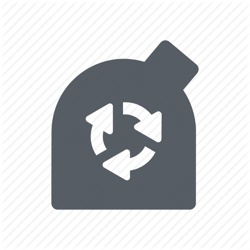 Container, Disposal, Garbage, Glass, Recycle Icon