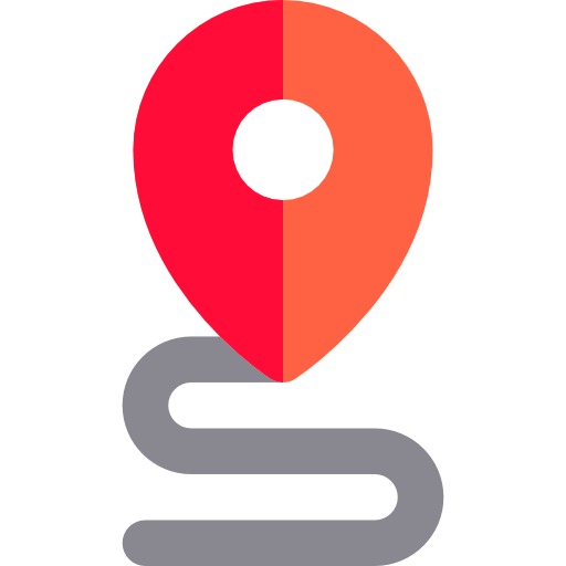 Placeholders, Travel, Points, Signs, Roads, Distance, Road Icon