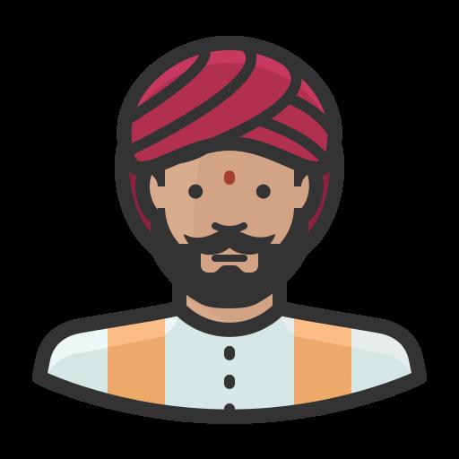 Indian, Man, Avatar Icon Free Of Avatars