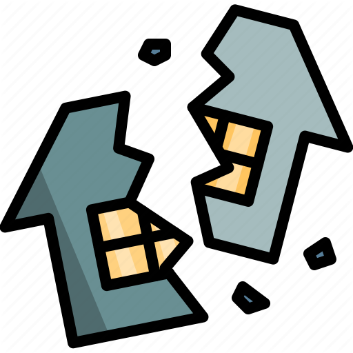 Break, Divorce, Family, Home, House, Up, Wreck Icon