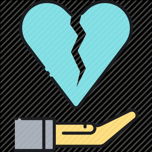 Divorce, Divorce Insurance, Heartbreak, Heartbroken, Insurance Icon