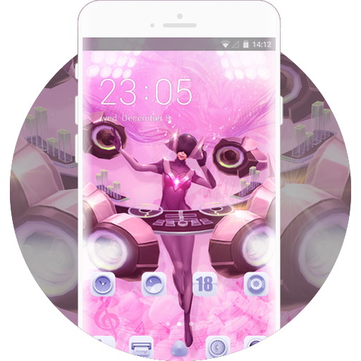Dj Sona Music Theme Free Android Theme U Launcher
