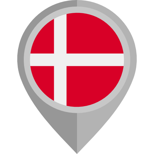 Denmark, Dk, Danish Icon