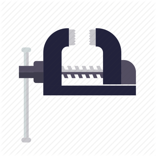 Cl Craft, Do It Yourself, Metal, Tool, Vice, Workshop Icon