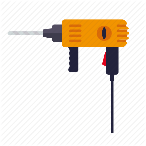 Do It Yourself, Drill, Electrical, Tool, Workshop Icon