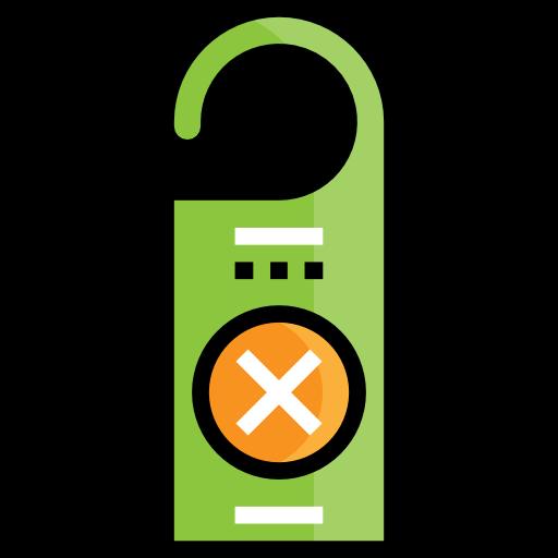Hanger, Do Not Disturb, Sleeping, Signaling, Door Hanger, Sign Icon