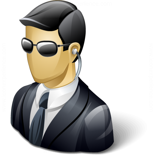 Iconexperience V Collection Security Agent Icon