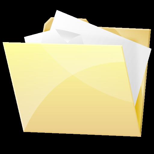 , Dock, Folder, Paper, Document Icon Hydroretro Hr Dock