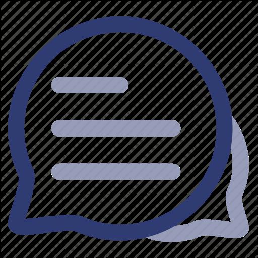 Comment, Dms, Document, Management, Message, Notif, System Icon