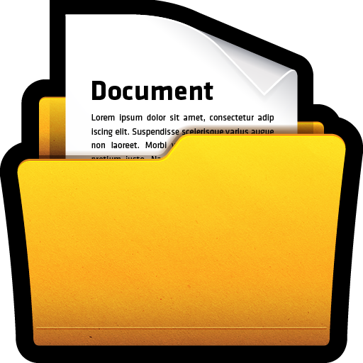 Documents, Folder, My, Office, Wn
