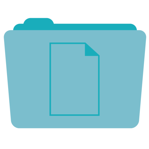 Folder Documents Icon Stock Folder Iconset Hamza Saleem