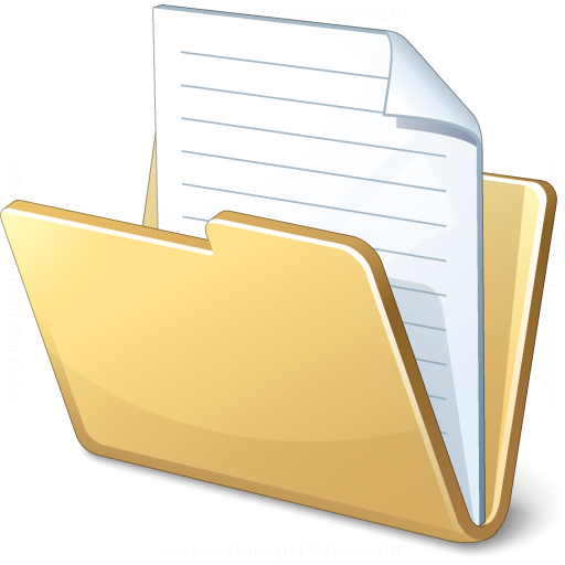 Iconexperience V Collection Folder Document Icon, Windows
