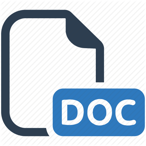 Doc, Document, Docx, File, Word Icon