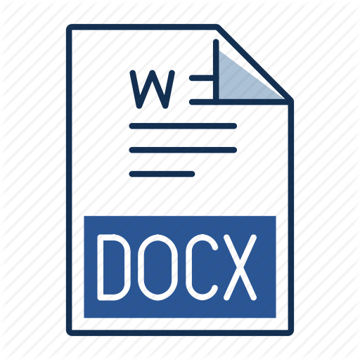 Document, Docx, Extension, File, Format Icon