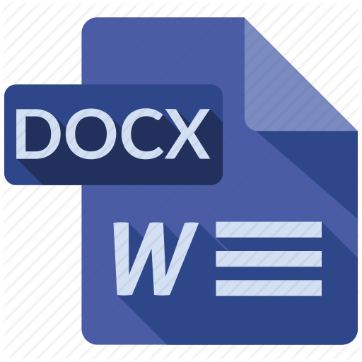 Document, Docx, File, Tag Icon