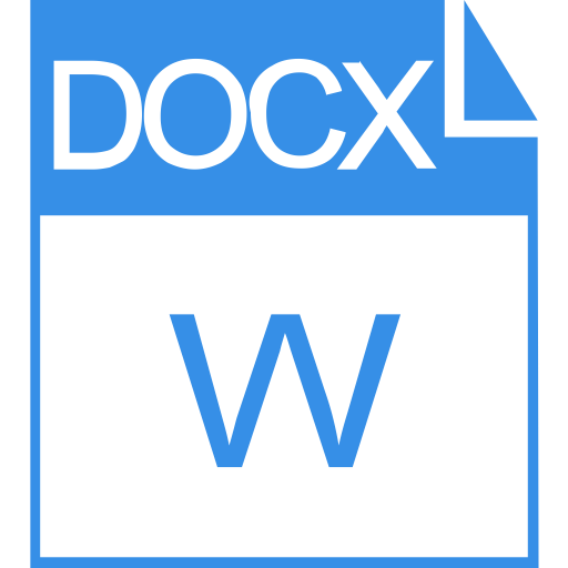 Docx, Extension, Icon With Png And Vector Format For Free