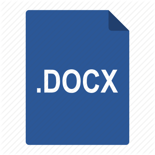 Docx, File, Format, Microsoft, Office, Word Icon